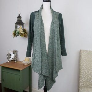 Anthropologie Sweater Cardigan Open Front Sz MP